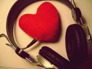 Valentines day, 14 февраля, любовь, признание, чувство, сердце, love, music, музыка, наушники, 3072x2304