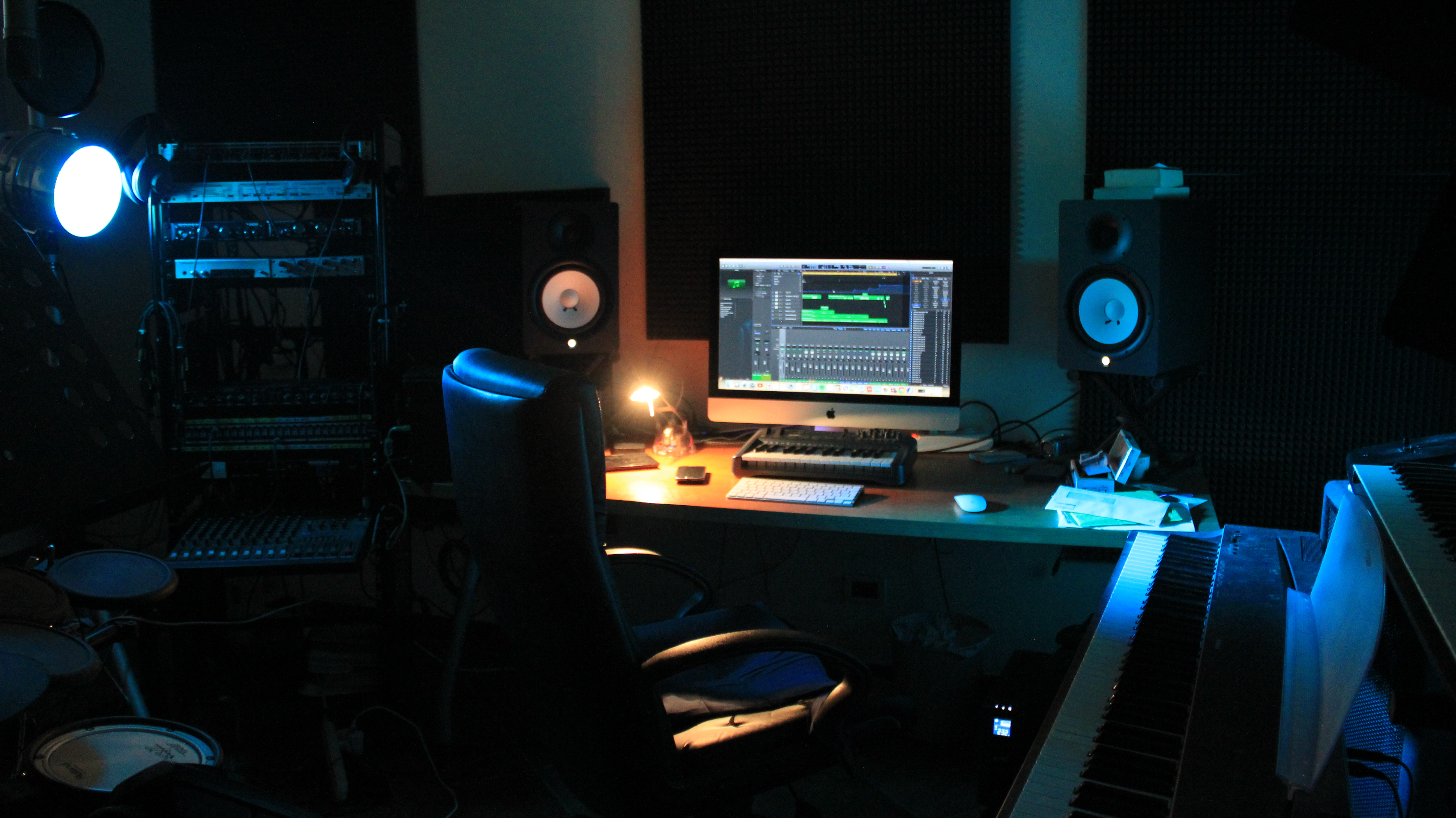 Studio di registrazione arezzo audiofollia - Studio di registrazione casalingo ...