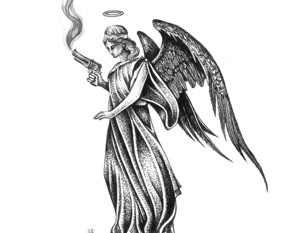 "Love Ghost - Angel With a Smoking Gun"""